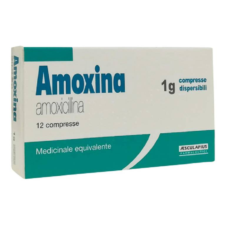 AMOXINA*12CPR DISPERS 1G