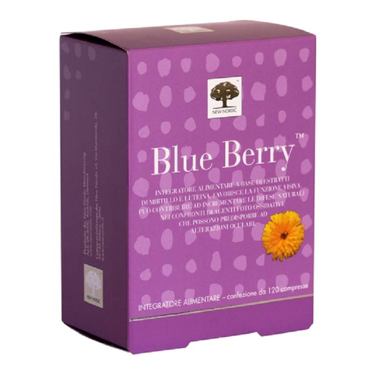 BLUE BERRY Integratore 60 compresse 42 g