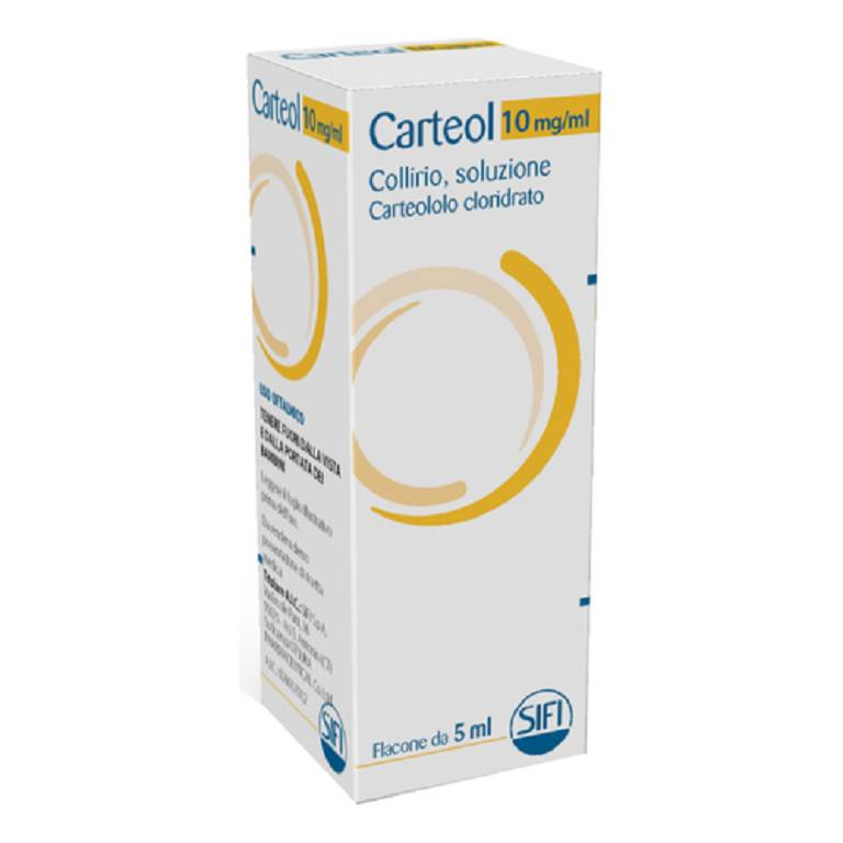 CARTEOL*COLL FL 5ML 1%