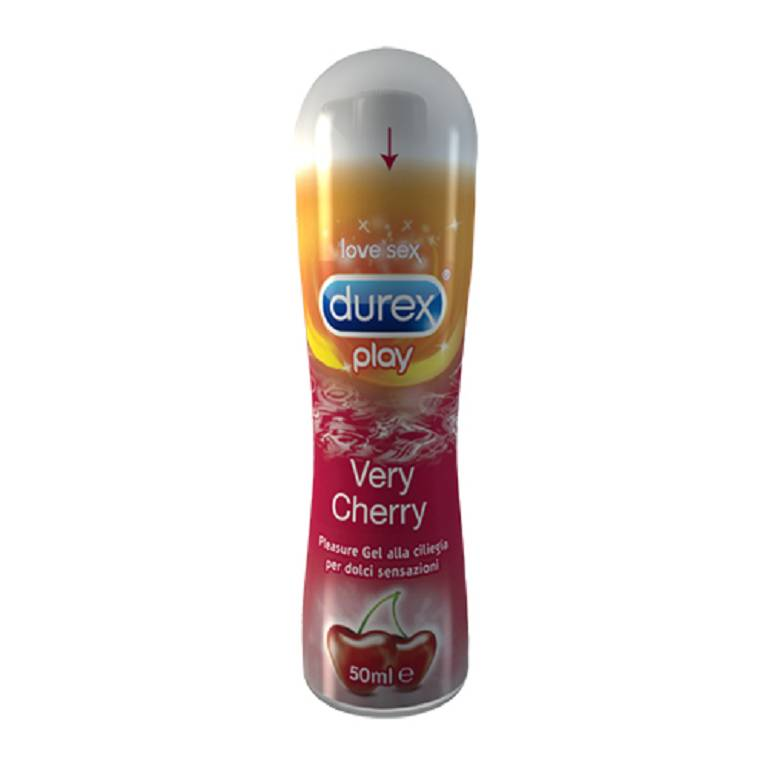 DUREX TOP GEL VERY CHERRY 50ML