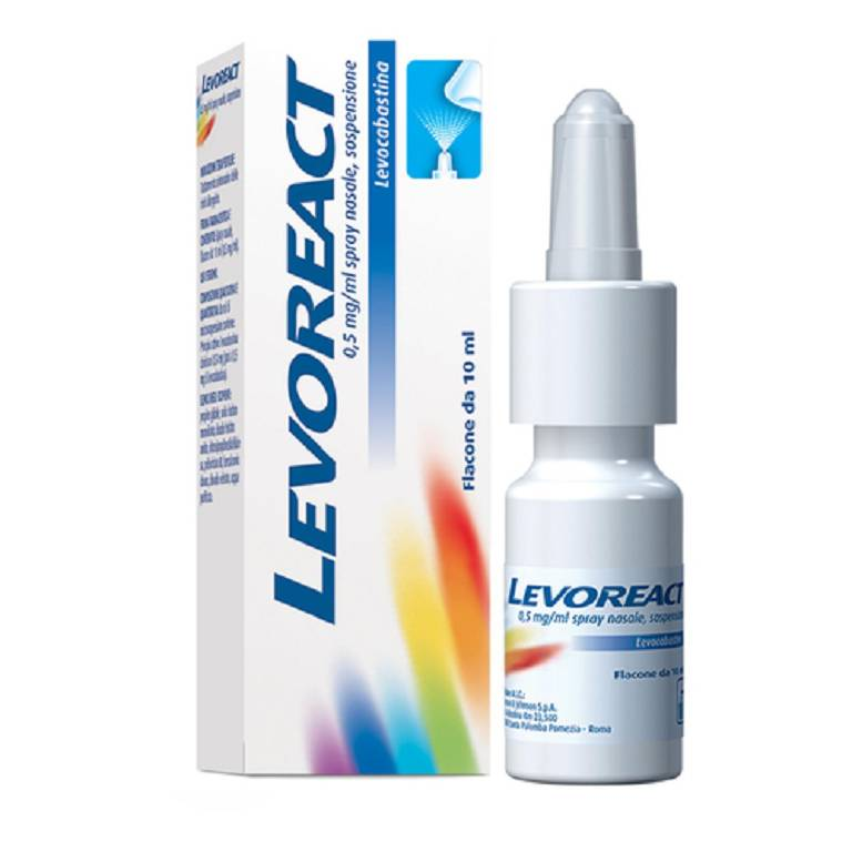 Levoreact Spray Nasale 10 ml.