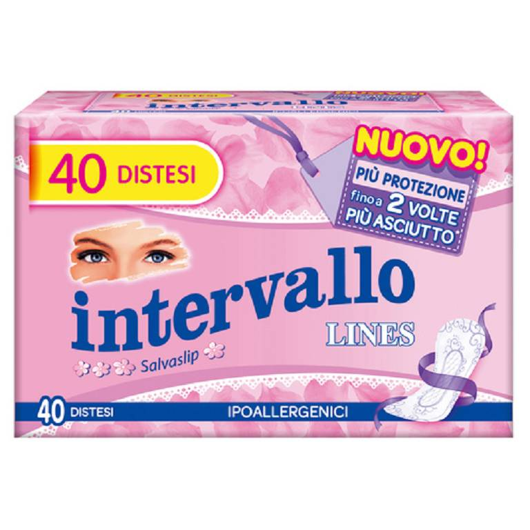 LINES INTERVALLO SENSITIVE 40P